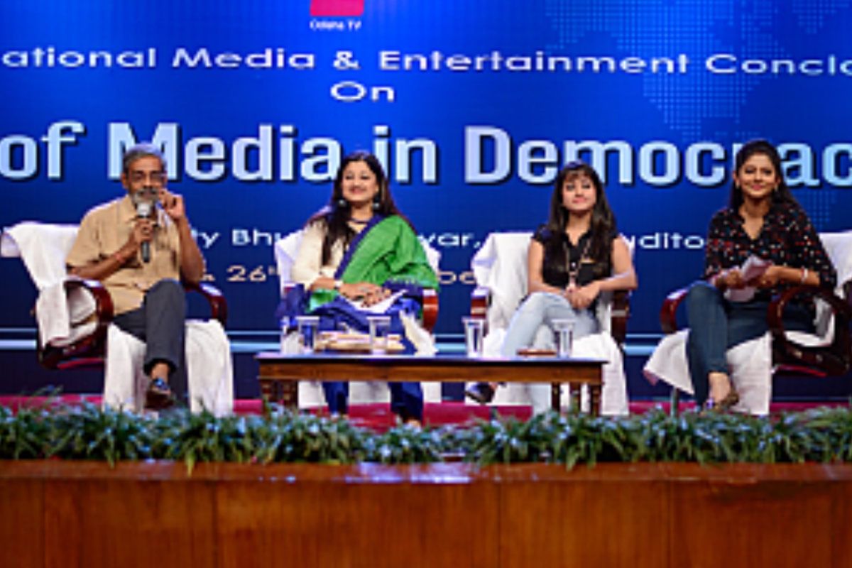 International Conference in Collaboration with OTV. The theme was Role of Media in Democracy: 25th & 26th November, 2016 (Friday and Saturday)